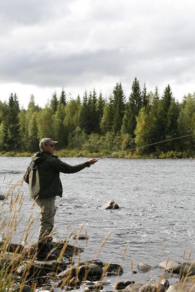 Fint väder och bra fiske.