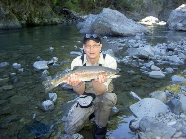 Ngauroro river, NZ