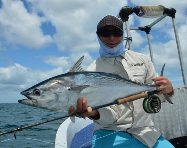 Lycklig fiskare